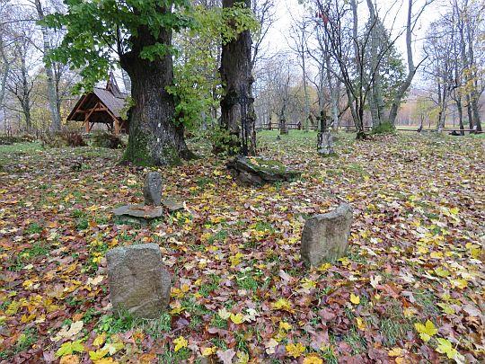 Cmentarz w Wołosatem.