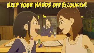 Midori e Tsubame Começam a Criar Juntas! em Keep Your Hands Off Eizouken!