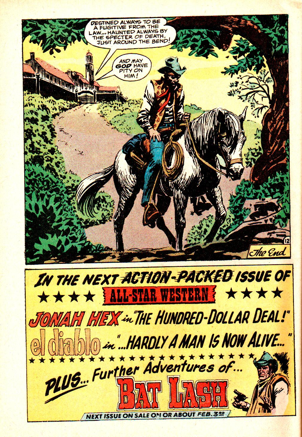 Read online All-Star Western (1970) comic -  Issue #10 - 48