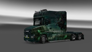 Gargulia skin for Scania T truck