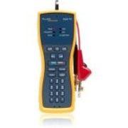 Fluke Networks Test Set + TDR, 4 MM Banana, Extra-large Alligator Clips, Test Probe - Cable Length Testing, Voice Signal Testing, Video Signal Testing, Voltage Monitor, Current Measurement