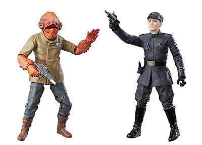Black Series Admiral Ackbar and First Order Officer