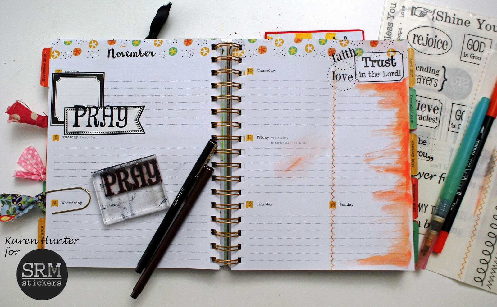 SRM Stickers: Faith Planner by Karen