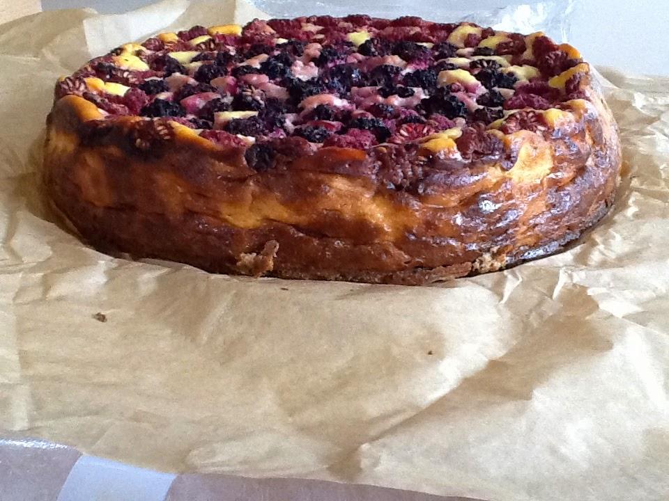 Polish Cake Recipes Uk: How To Eat Properly: Summer Berry Sernik (polish Cheese Cake