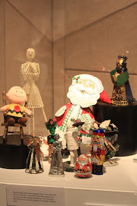 Vintage Metal Dolls and Christmas Figures, some Mechanical.  Photo by Dino Milani.
