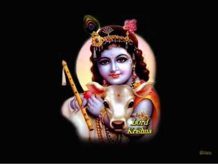 Beutiful clipart of bal krishna