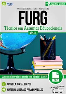 Apostila FURG 2017 Técnico em Assuntos Educacionais