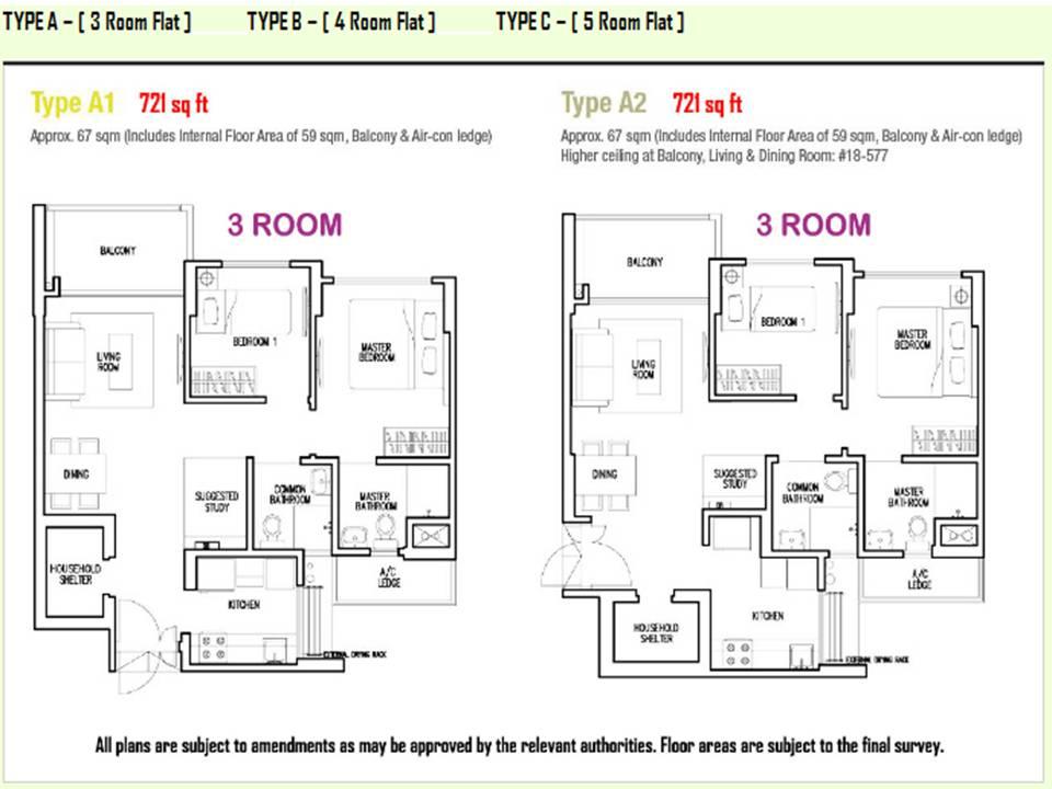 Parkland Residences: Site/Floor Plan