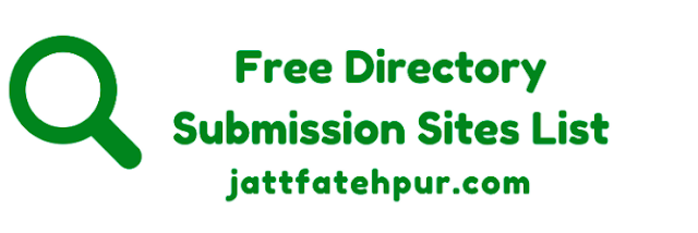 High PR Free Directory Submission Sites List 2018