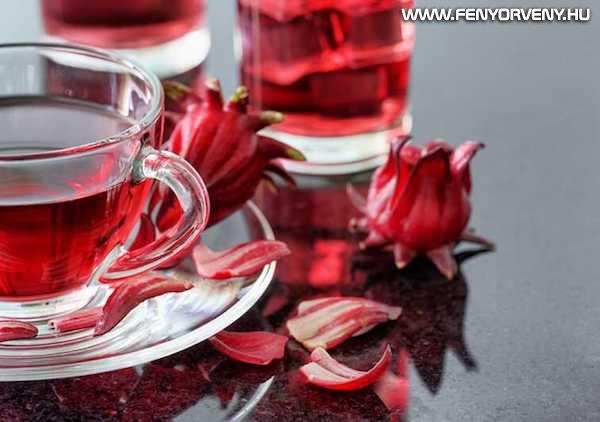 Hibiszkusz tea, mint természetes vérnyomáscsökkentő
