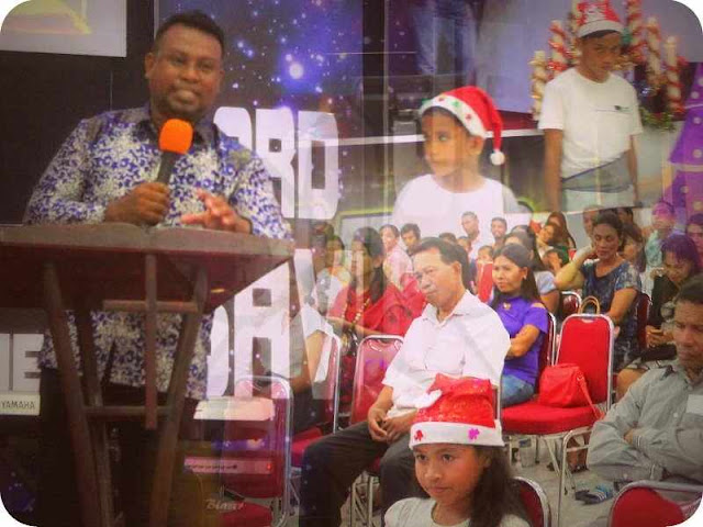Jemaat GSJA Sola Fide Saumlaki Gelar Perayaan Natal