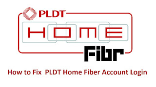 How to Fix  PLDT Home Fiber Account Login