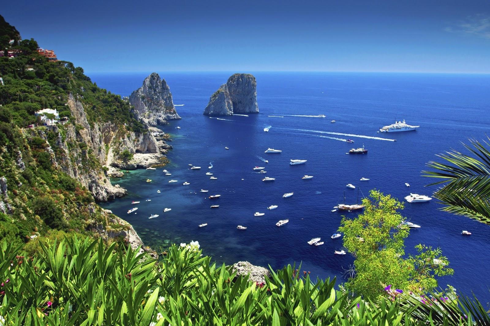 Travel Amp Adventures Capri A Voyage To Capri Naples Italy Europe