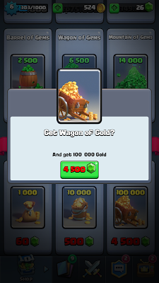 gold di game Clash Royale