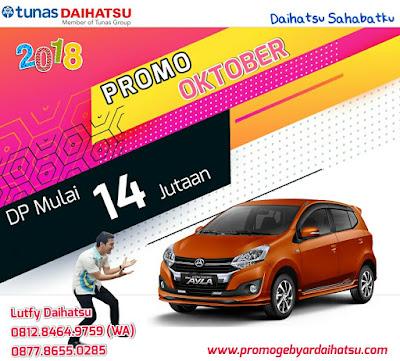 Promo Daihatsu Ayla Oktober 2018