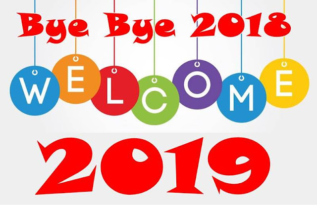 ByeBye 2018 Welcome 2019 Images