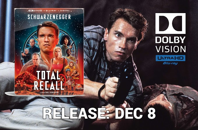 Total Recall 30th Anniversary SteelBook arrives on 4K Ultra HD Blu-ray Dec 8 (Lionsgate)