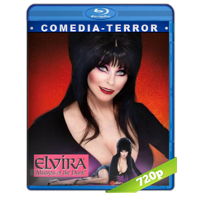 Elvira Misterio De La Obscuridad (1988) BRRip 720p Audio Trial Latino-Castellano-Ingles 5.1