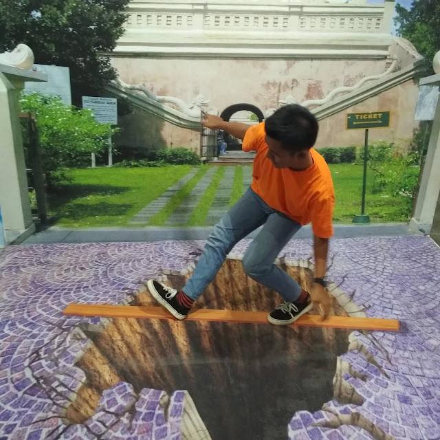 HARGA TIKET MASUK MUSEUM 3D DE MATA DAN DE ARCA DI JOGJA