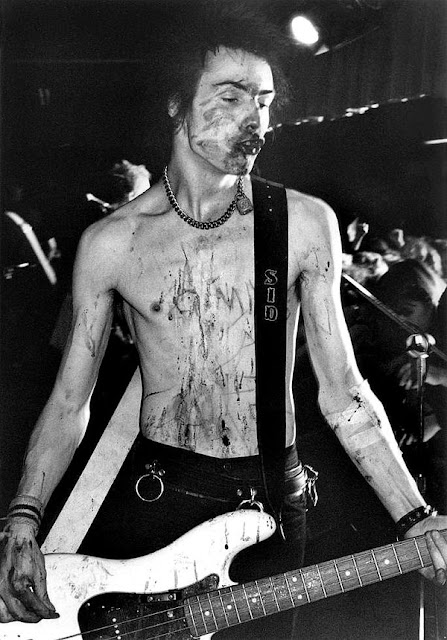 Sid Vicious, USA, 1978 - Rock Stars by Bob Gruen