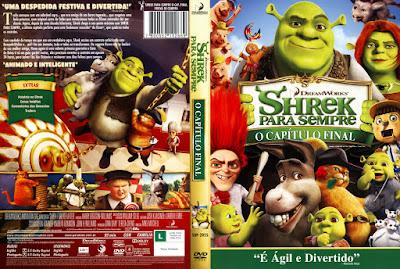 Filme Shrek Para Sempre (Shrek Forever After) DVD Capa