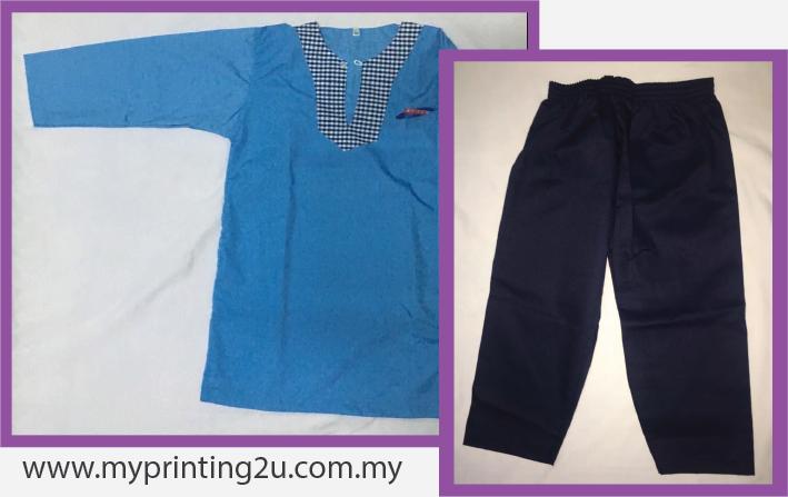 Custom Made Baju Tadika Kemas