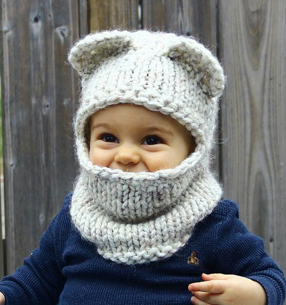 Knitting Pattern Balaclava For Baby : TIPOS DE GORROS DE LANA Mientras Cuchufleta Duerme