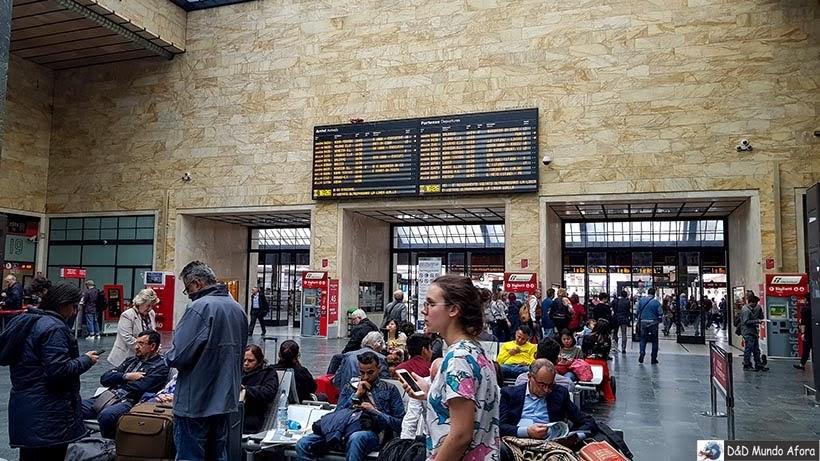 Estação Santa Maria Novella - Diário de bordo: 2 dias em Florença