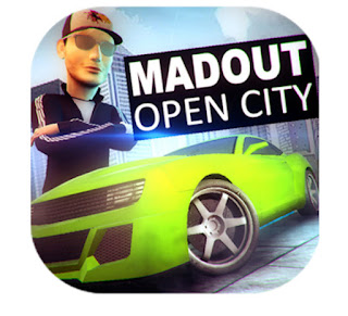 free download MadOut Open City Apk Full Data V8 Terbaru For Android versi Hack Gratis