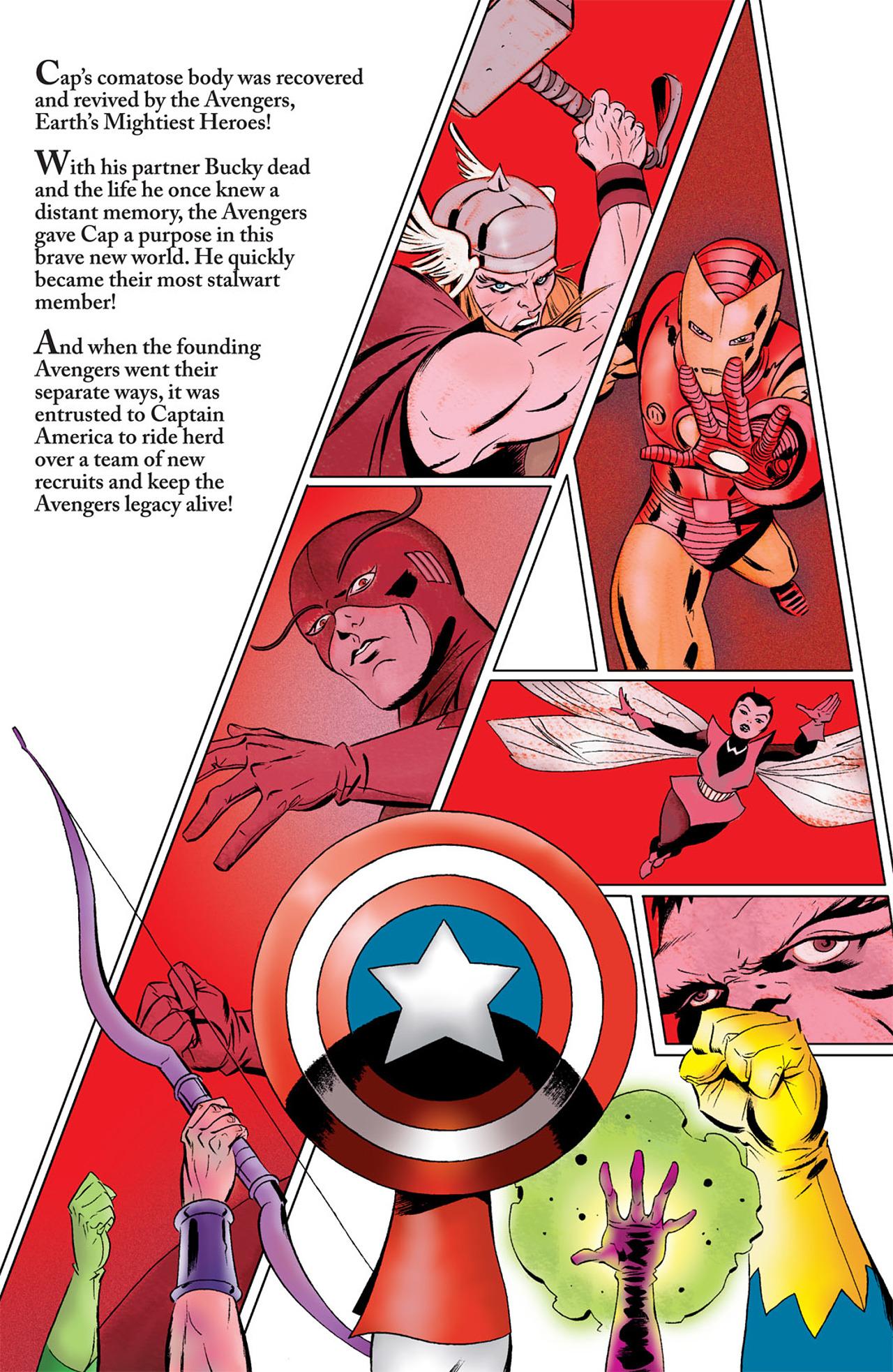 Read online Captain America (2005) comic -  Issue #50 - 32