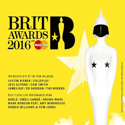 CD BRIT Awards 2016