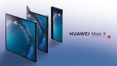 هاتف هواوي الجديد القابل للطي Huawei Mate X