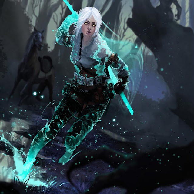 The Witcher 3 Ciri By Shooter Wallpaper Engine
