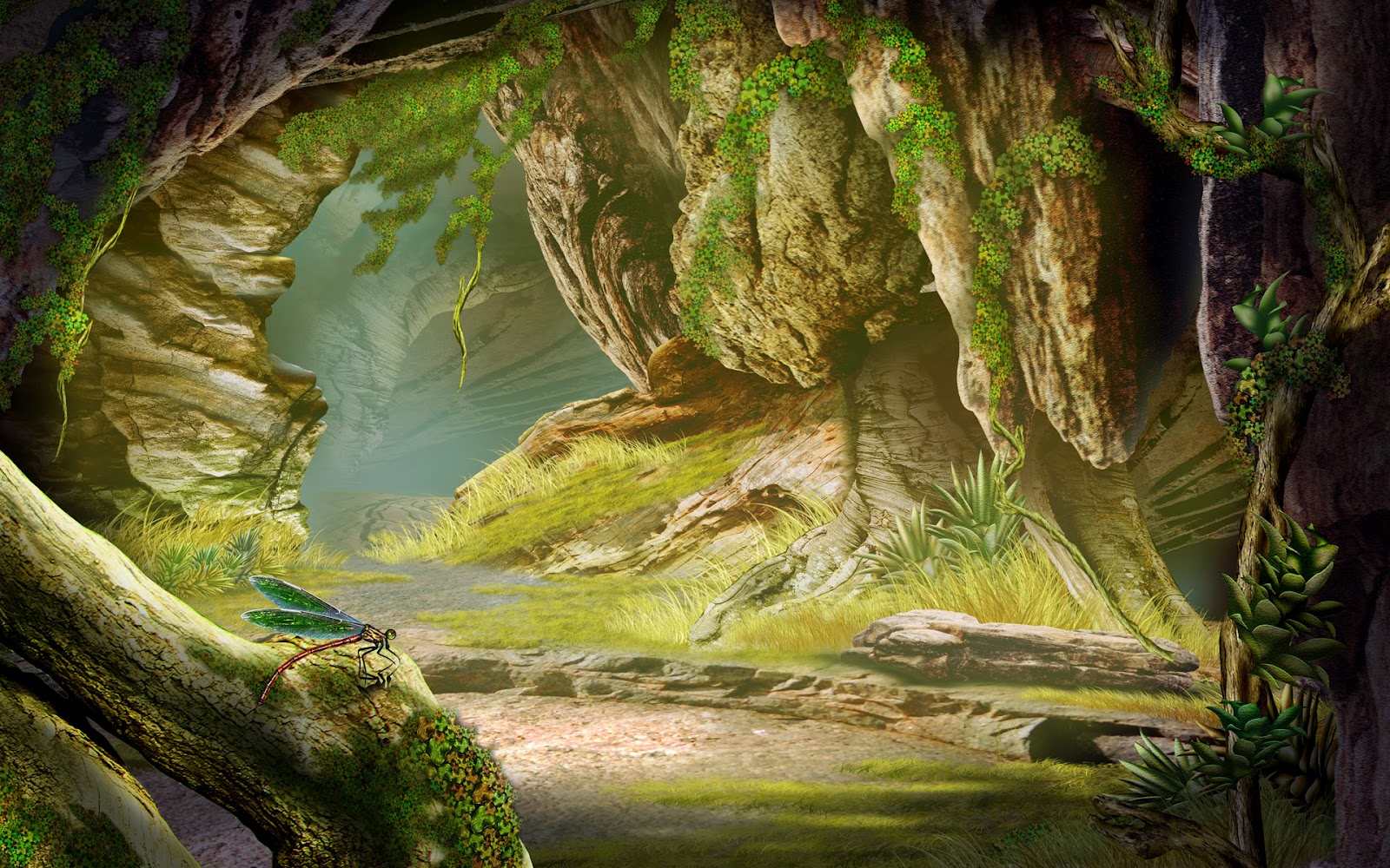 Stunning Hd Fantasy Wallpapers: HD Beautiful Fantasy Wallpapers