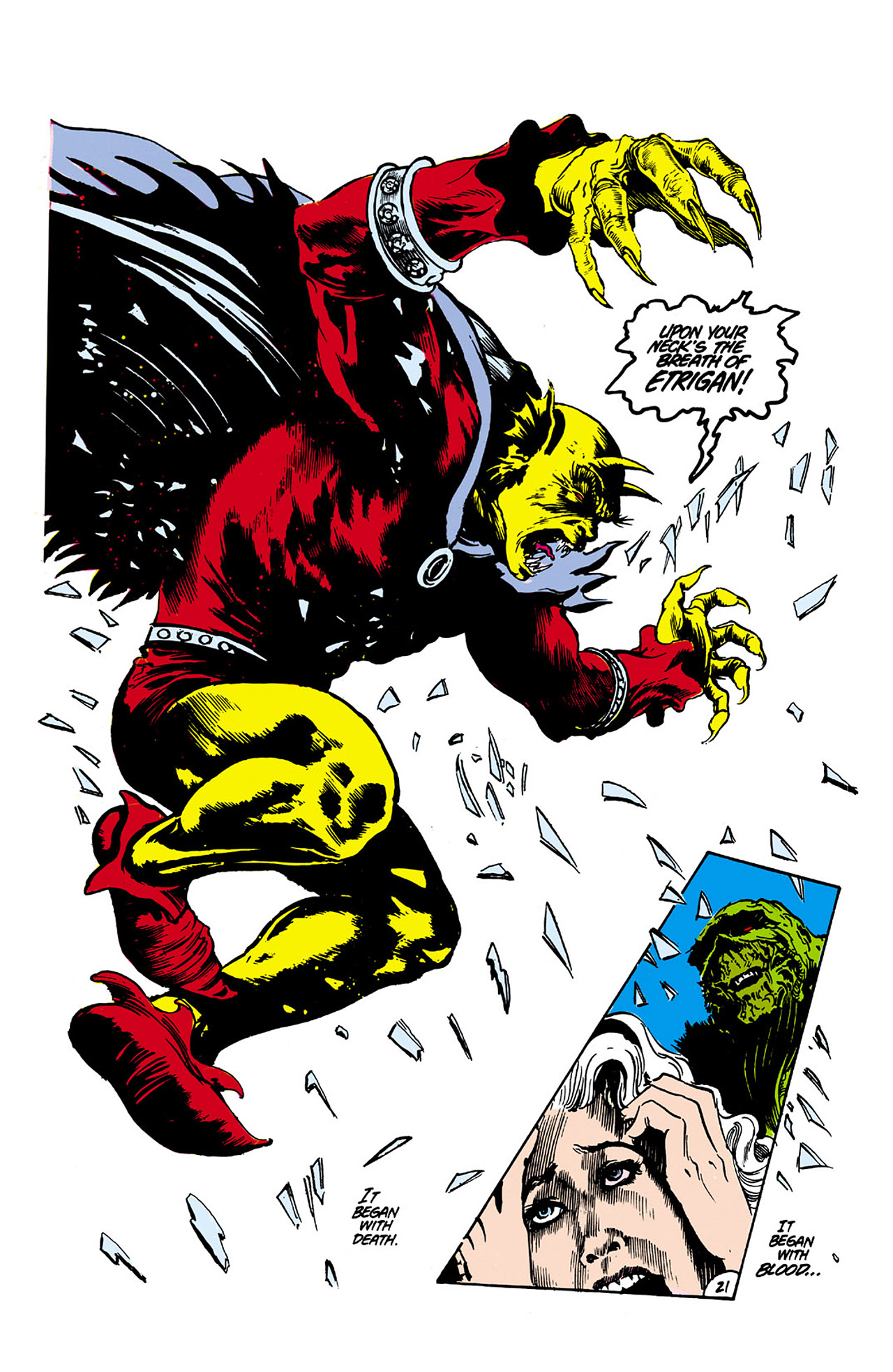 Swamp Thing (1982) Issue #26 #34 - English 21