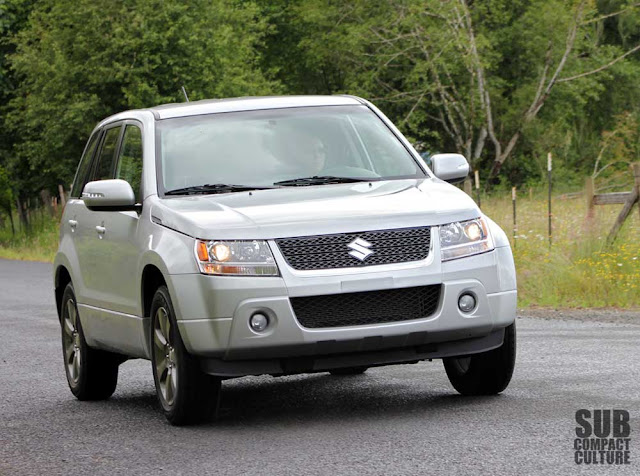 Driving the 2012 Suzuki Grand Vitara Ultimate Adventure