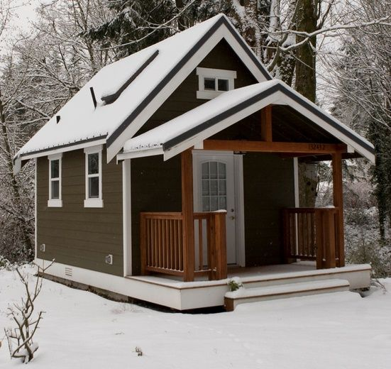 Tiny House Town Cozy 420sq Ft Backyard Cottage