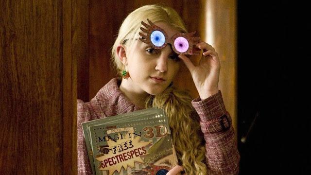 Актрисата Евана Линч играе Луна Лъвгуд във филмите по Хари Потър