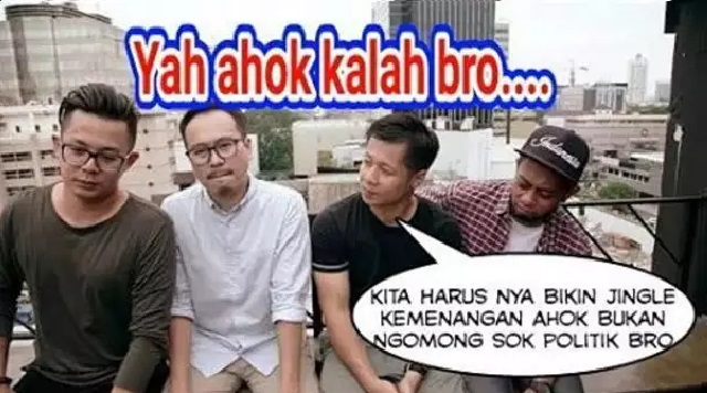 Gambar Meme AHOK Untuk Dp BBM, Line, Whatsapp Paling Lucu Dan Kocak Terbaru