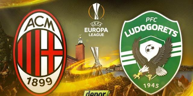 AC Milan vs Ludogorets Razgrad Highlights & Full Match 22 February 2018
