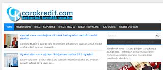 carakredit.com situs tutorial kredit usaha