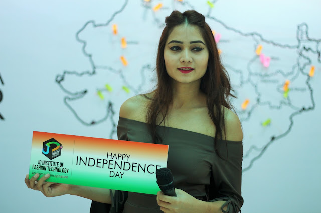 BINDING INDIA TOGETHER with JD Institute of Fashion Technology