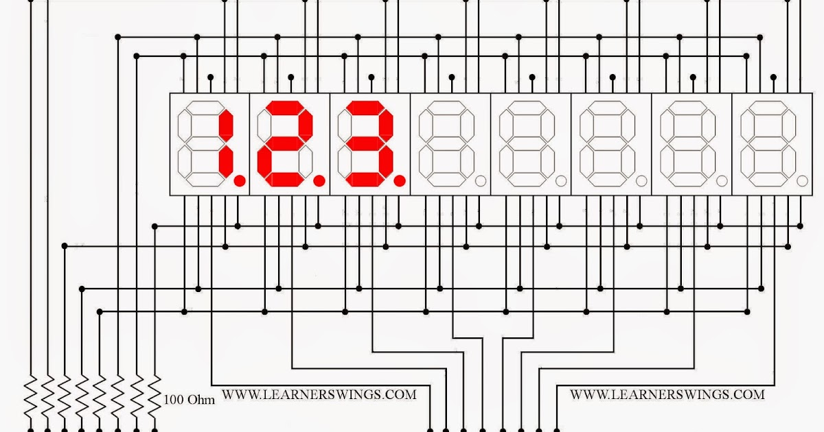 Megazine also I2c Seven Segment Display Slave furthermore Blinking Pattern In A 222 Led Cube Using 555 Timer Part 1 as well Megazine besides Page 2. on using seven segment displays part 2