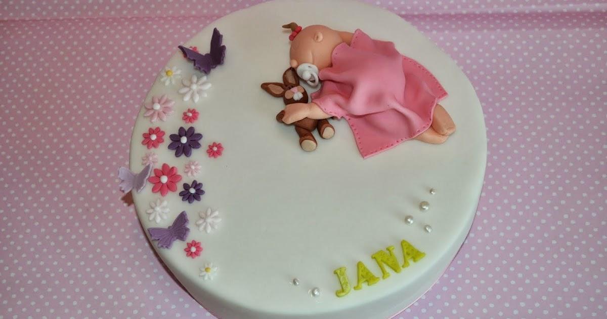 Torten  Cupcakes by Sibl Tauftorte fr Jana