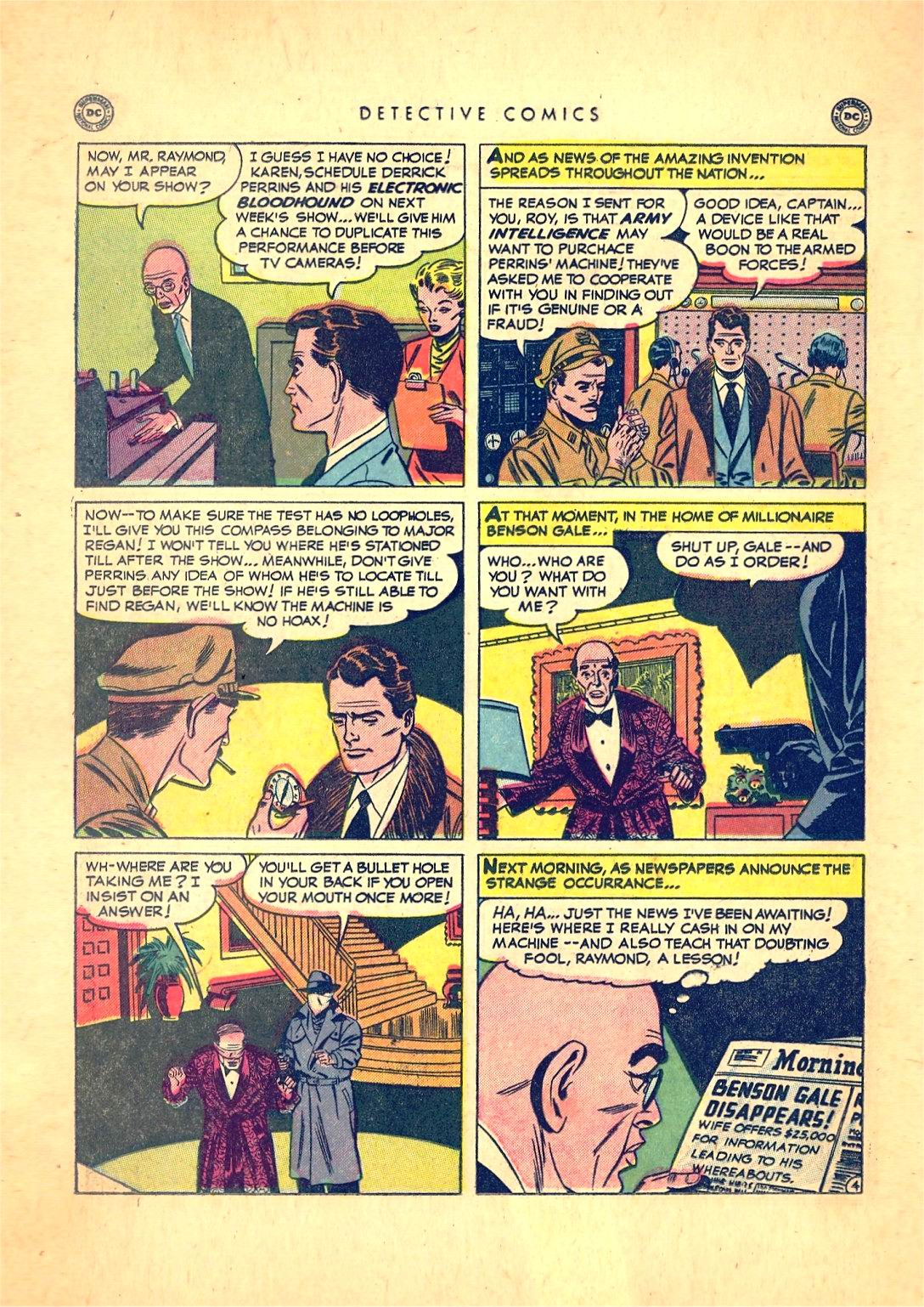 Read online Detective Comics (1937) comic -  Issue #166 - 20