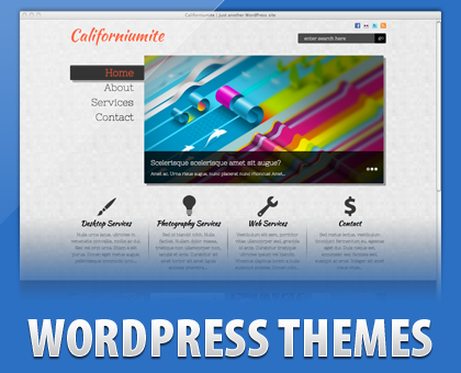 Free Californiumite Portfolio WordPress Theme