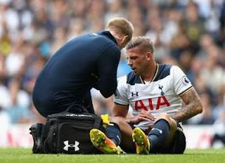Alderweireld-injury