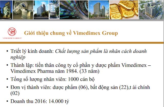 Giới thiệu Vimedimex Group