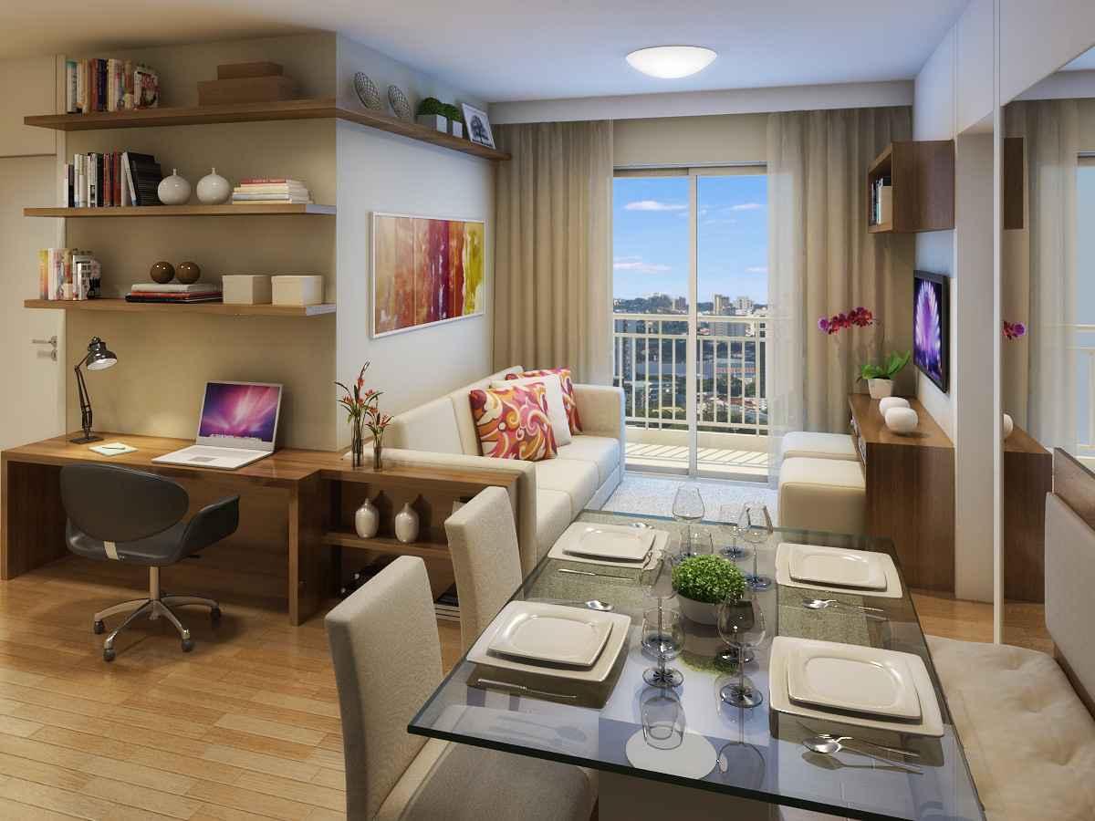 Construindo Minha Casa Clean 5 Dicas Para Decorar Ambientes Pequenos  -> Vasos Na Sala De Tv
