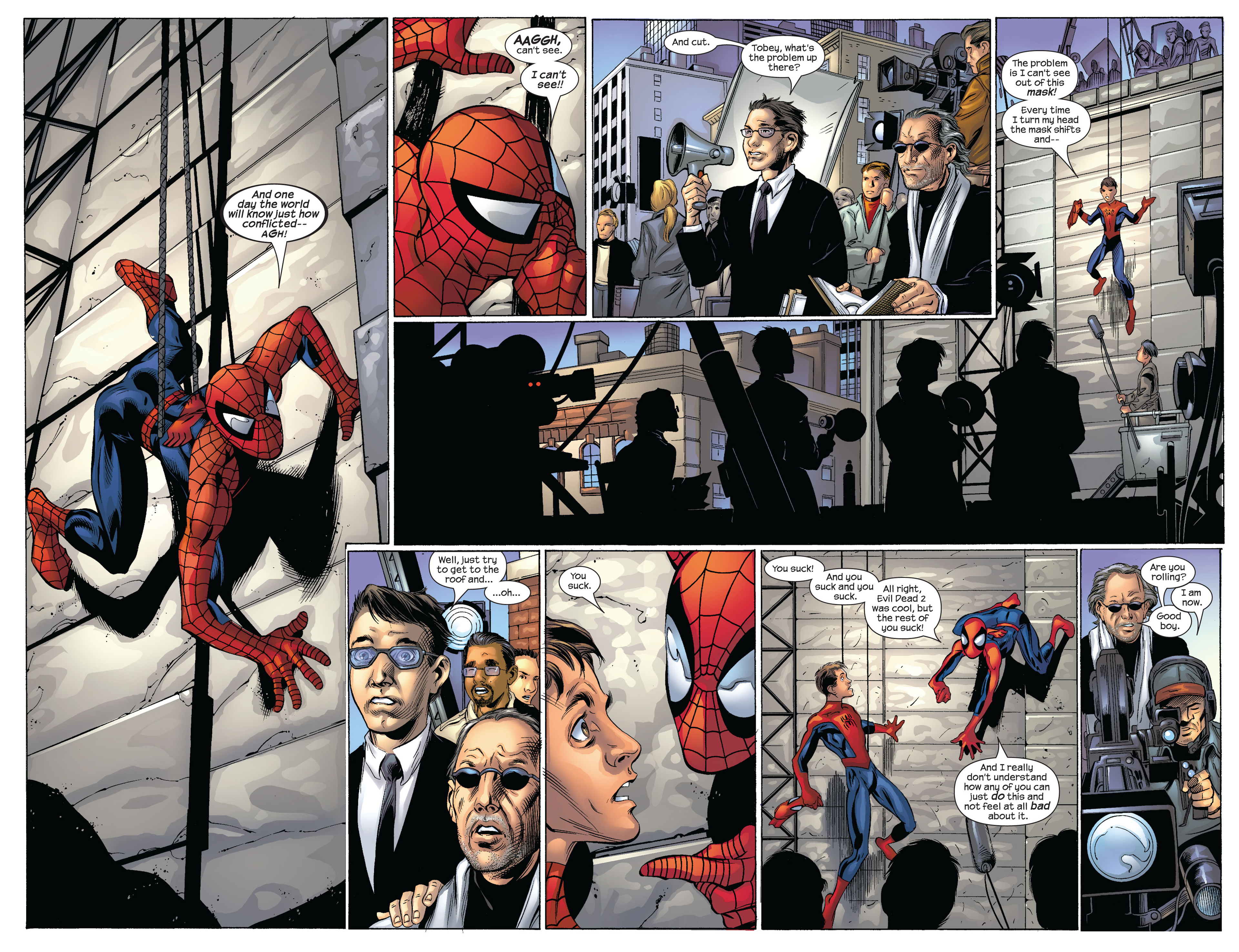 Read online Ultimate Spider-Man (2000) comic -  Issue #54 - 16